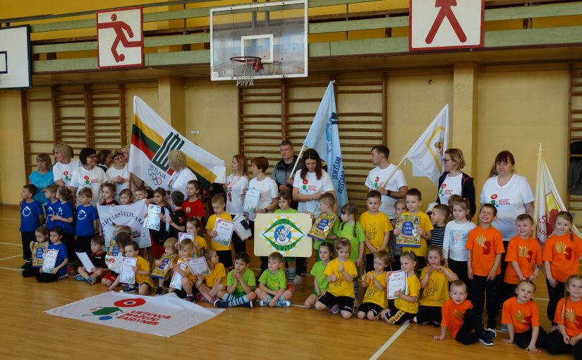 """Balandžio 04 dieną ,,Sodų"""" vidurinėje mokykloje įvyko Lietuvos mažųjų žaidynių II etapas."""