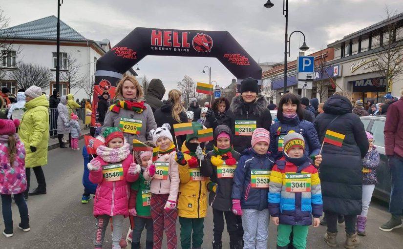 """""""Gudručiai"""" dalyvavo vasario 16-osios bėgime """"Bėgame už laisvę"""""""